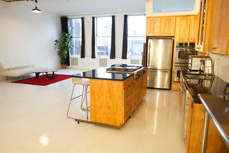 Dakota Studio - Shooting Kitchen Studio Rental - NYC